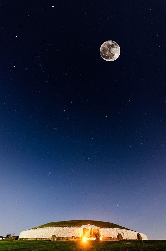 Newgrange Moon & Stars, Co. Meath, Ireland