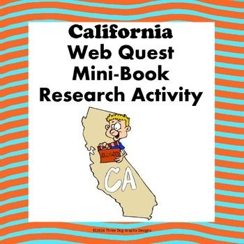 California mini book research activity web quest exploring the california mini book research activity web quest publicscrutiny Image collections