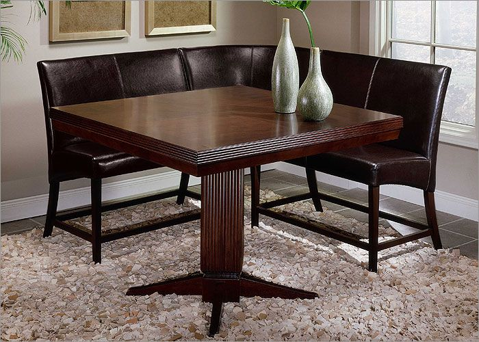 All Dining Sets Sausalito Counter Height Pedestal Table Dining Set With Corner Sea Counter Height Dining Table Set Dining Table Setting Kitchen Table Settings