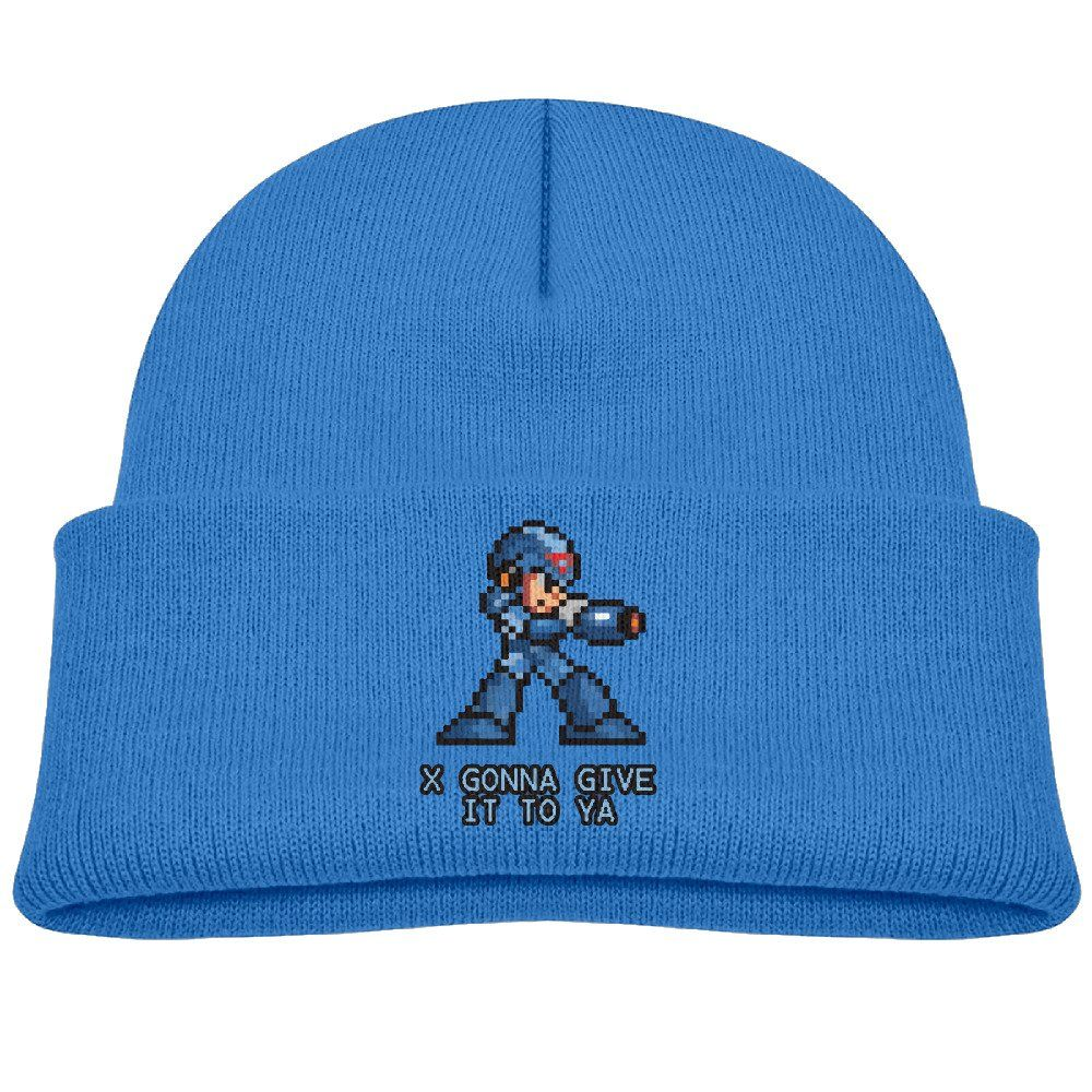 Deploeerad Kids I Gonna Give It To Ya Megaman Knit Warm Beanie Hat Skull Cap RoyalBlue. One Size Fits Most:40-52cm,Height: 20cm. Easy To Match And Suitable For Any Style Of Clothes. Great For Youth In Spring, Fall, Winter. Note: Shipping By USPS Delivery In 7-15 Working Days. This Trendy And Fashion Hat Will Be Your Favorite Choice For Accessorizing. A Perfect Gift To Kids.