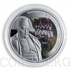 Niue 1 dollar Great Commanders Napoleon Bonaparte silver coloured proof 2010