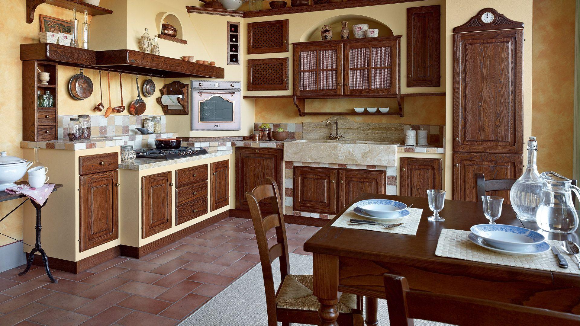 Venite a riscoprire la qualità delle vere cucine country ...
