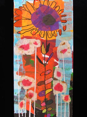 """""""King Flower and the Photosynthesizers""""  By Goodwill Art Studio & Gallery artist, Jane Taylor"""