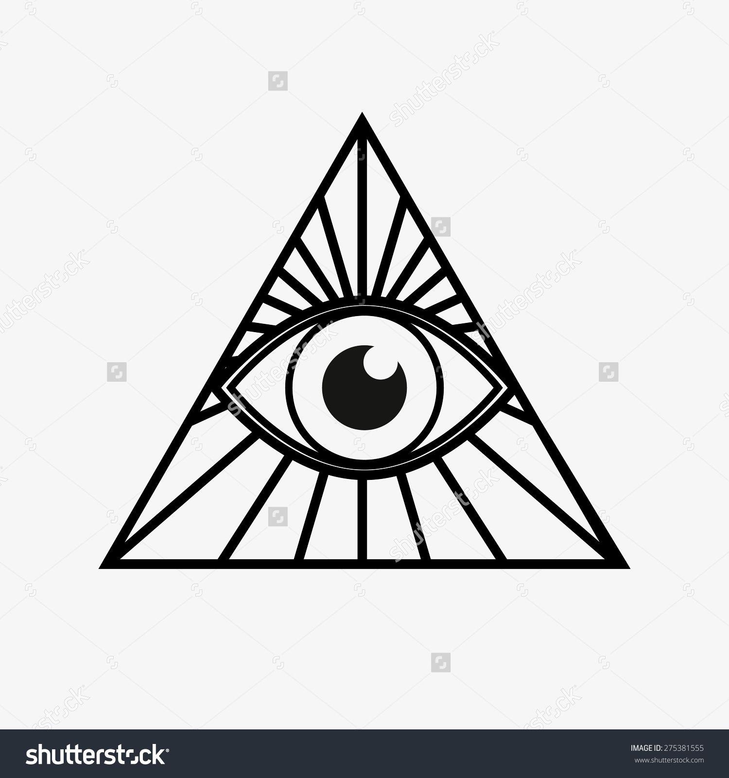 Image result for eye triangle Basic tattoos, Eye tattoo