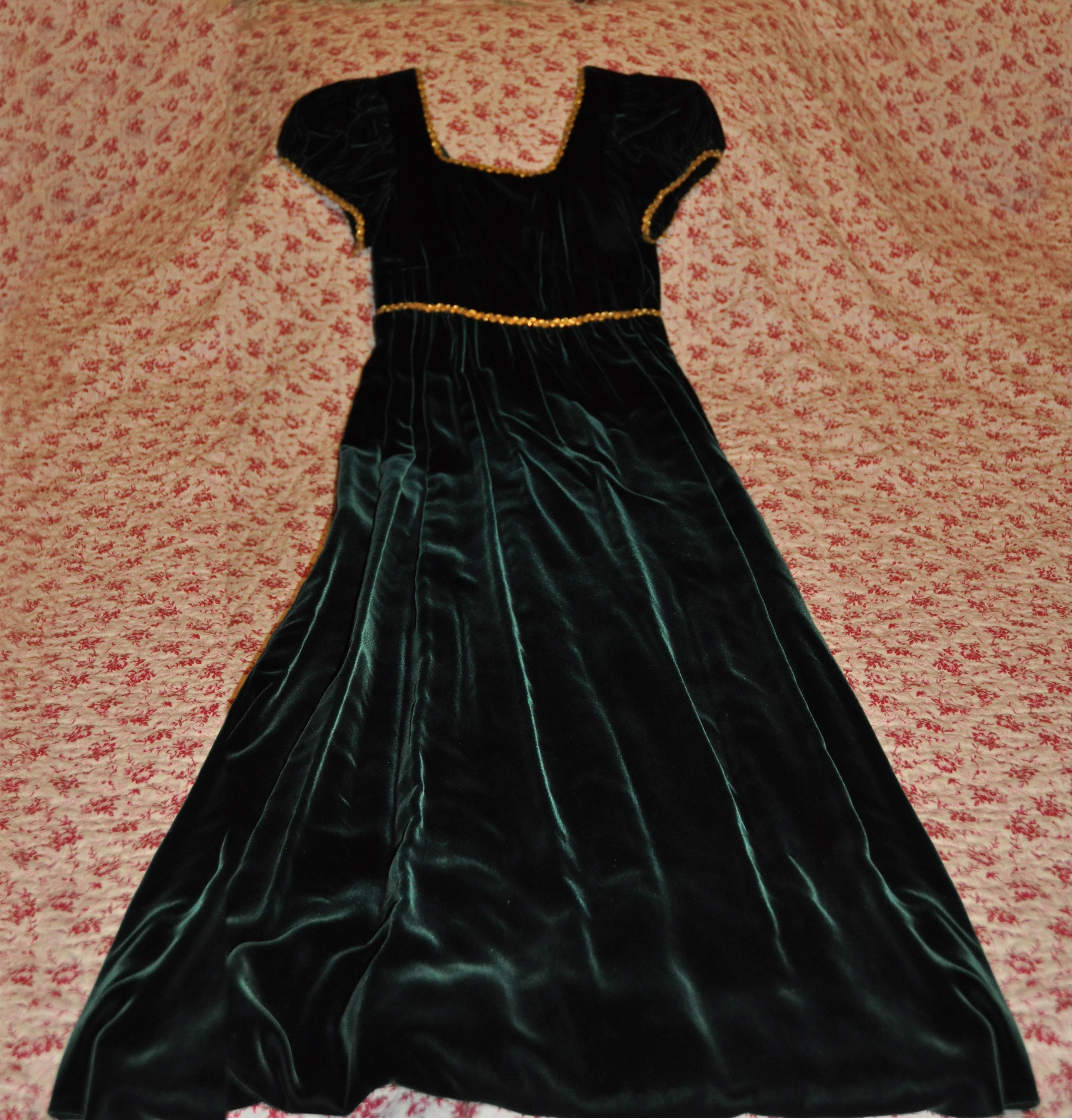 This is a prom dress that i made for myself years later i altered