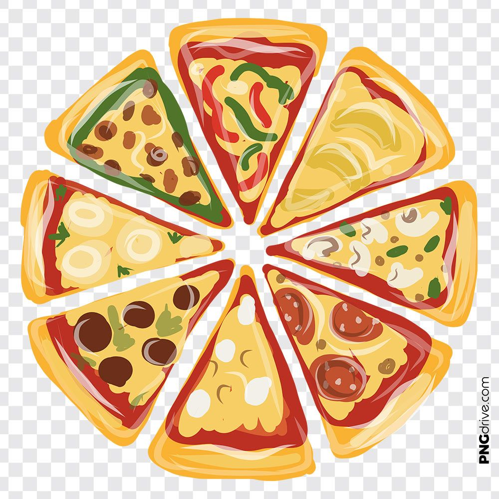 Pin By Duanglada Ruangdech On Pizza Png Images Pizza Background Pizza Art Pizza Vector