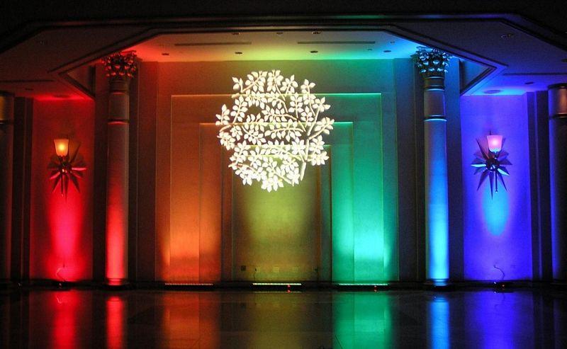 Event Lighting By Complete Music Video Photo Www Bestweddingshowcase Com Event Lighting Wedding Lights Uplighting Wedding