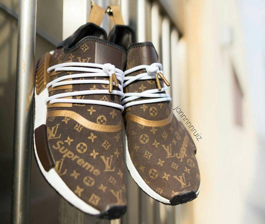 best service 95b28 b6a9d Supreme x Louis Vuitton x Adidas NMD R1 Speedy ...