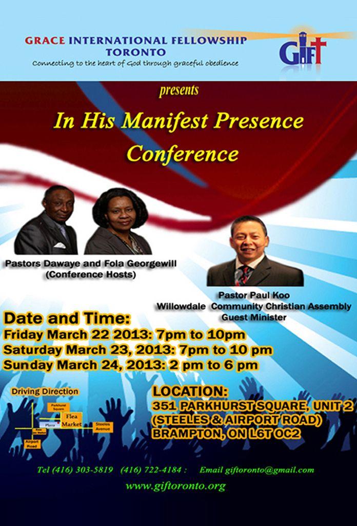 Dating manifest konference