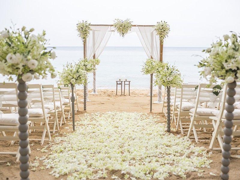 decoração de casamento praia - Google Search