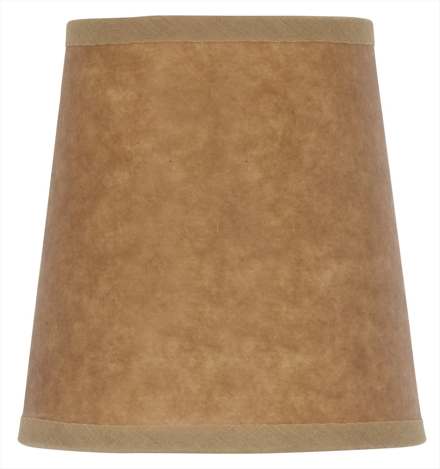 Mini lamp shades - Mini Chandelier Shade Clip On Small Lamp Shade Oiled Craft Paper Upgradelights Flame Clip Chandelier