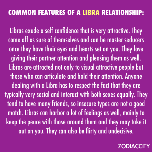 what is a libra like in relationship