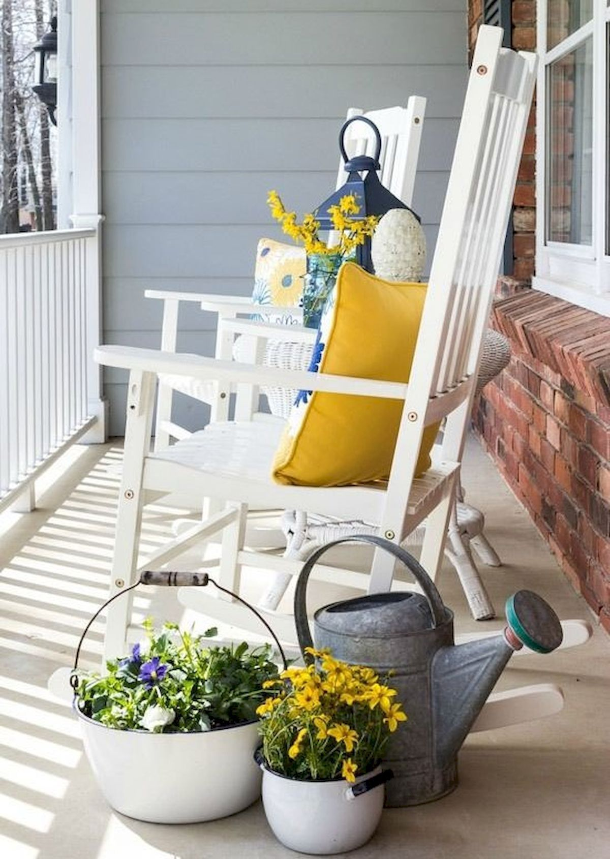 50 beautiful spring decorating ideas for front porch 28