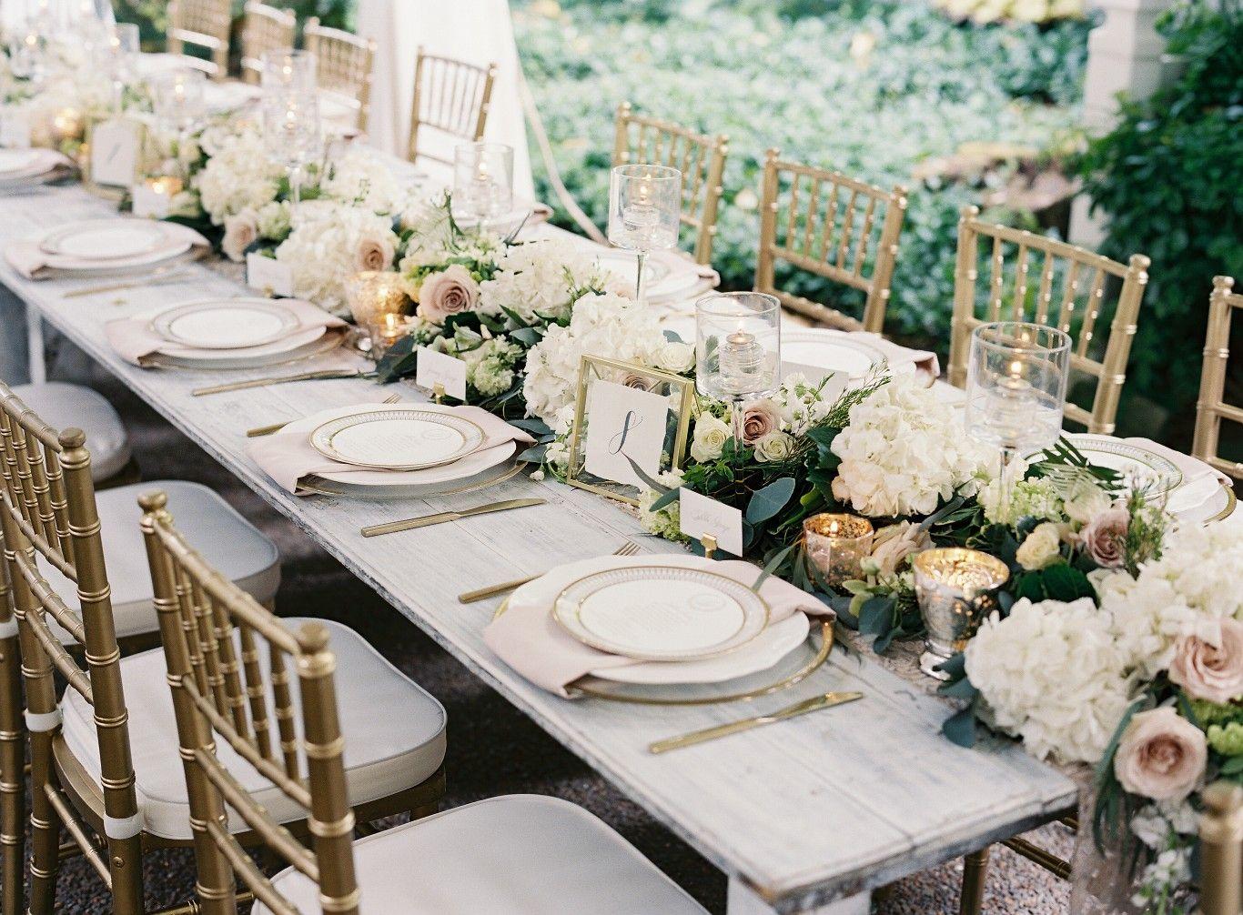 Gold and White Wedding Near Nashville, TN | Nashville ...