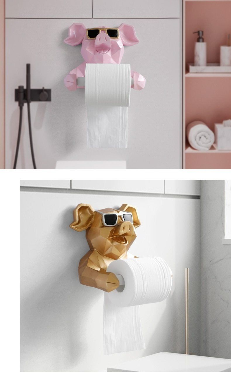 Details about  /Kitchen Wall Mounted Toilet Paper Holder Stainless Steel Bathroom Tissue Towel