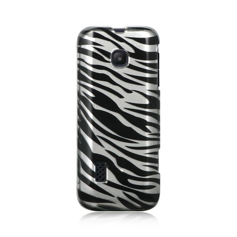 Insten Silver/ Hard Snap-on Rubberized Matte Case Cover For Huawei Verge M570 #2292477