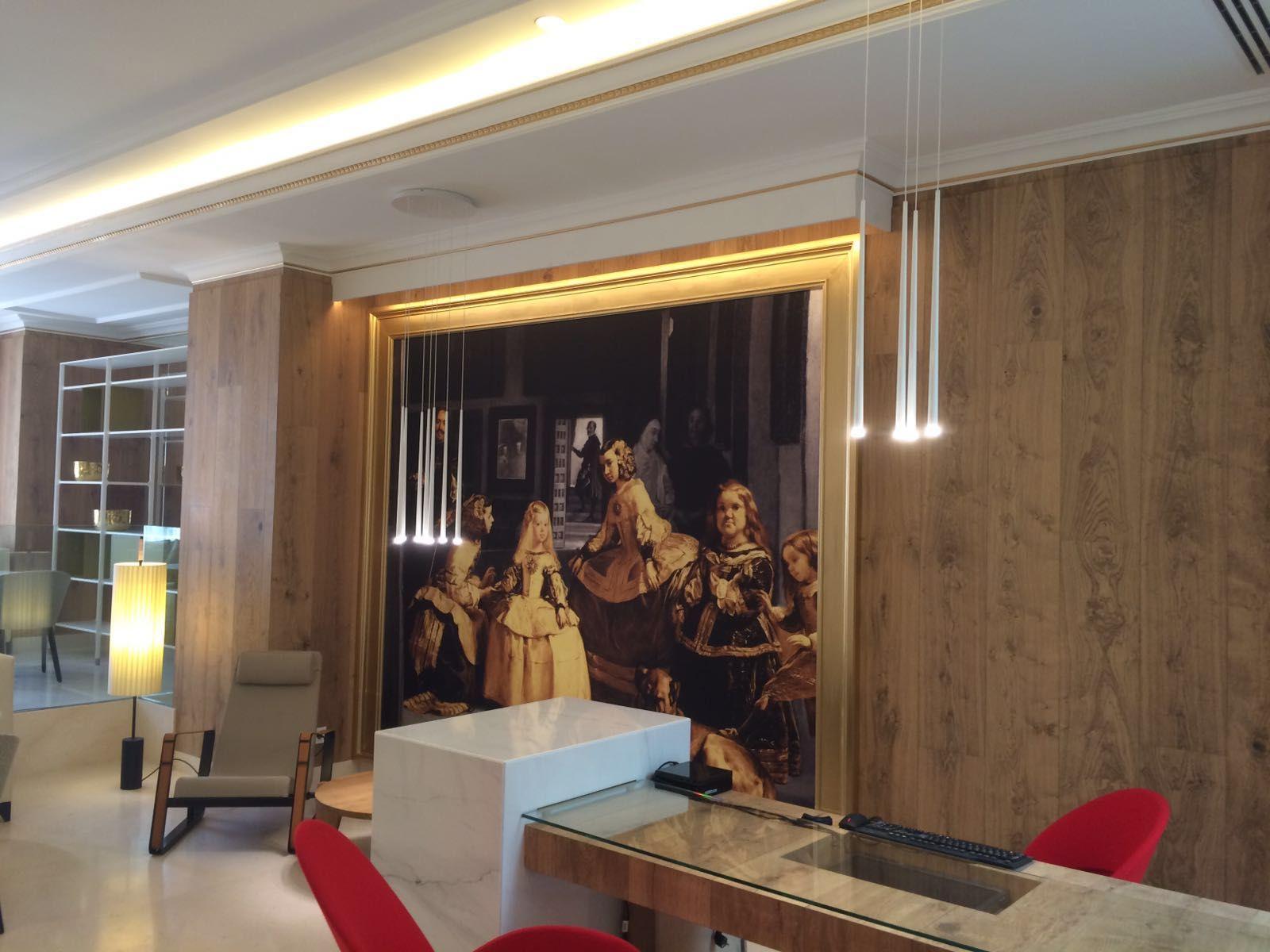 Marcos dorados para #cuadros serigrafiados de gran tamaño.   Arte y ...