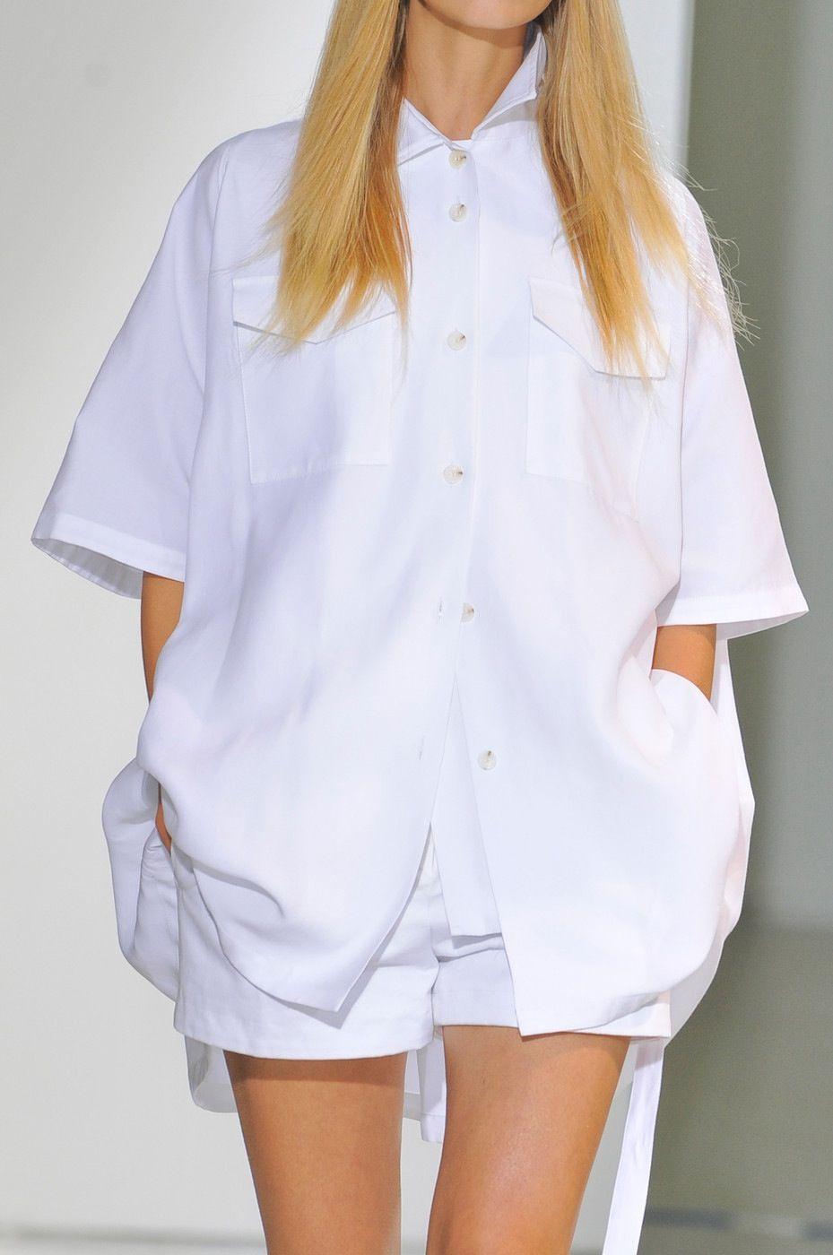 oversized shirt @ yang li spring 14