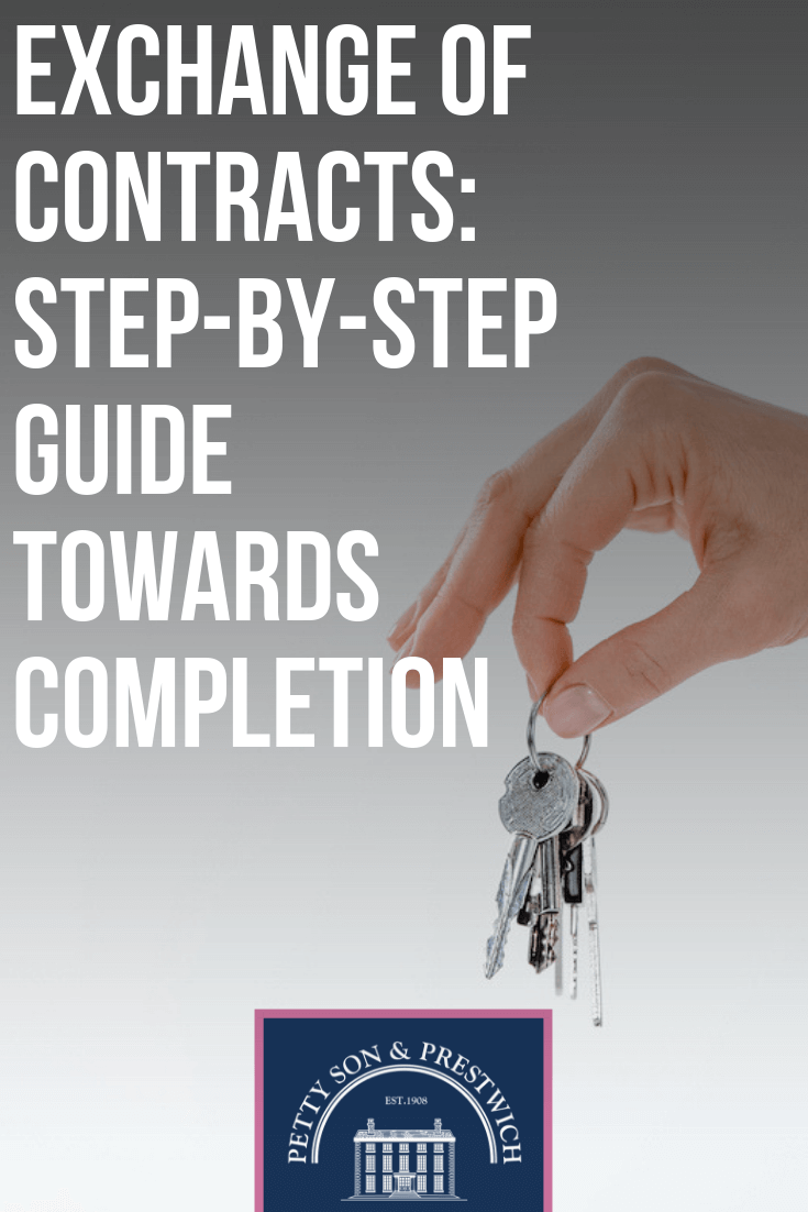 Exchange Of Contracts Step By Step Guide Towards Completion
