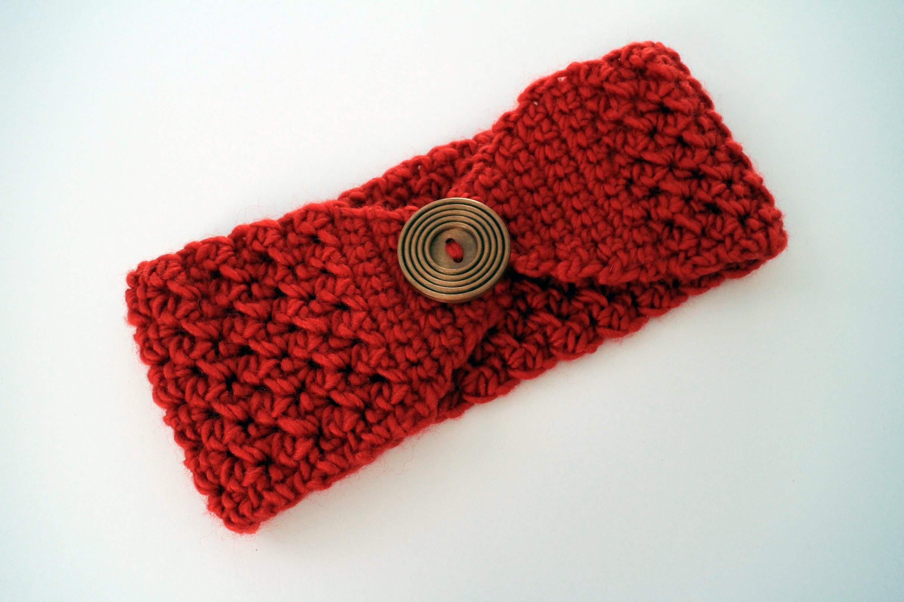 Quick Crochet Pattern for a Headband. This is a quick and easy ...