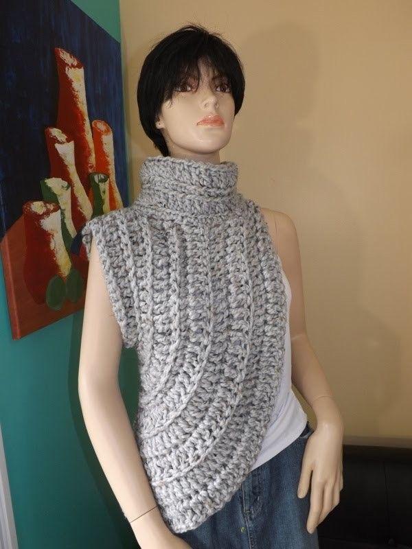 Crochet Calentador o Chalina Inspirado Por Katniss | Pinterest ...