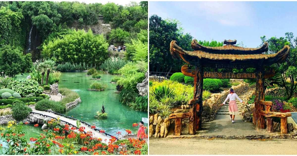 These Beautiful Gardens In Texas Will Make You Feel Like