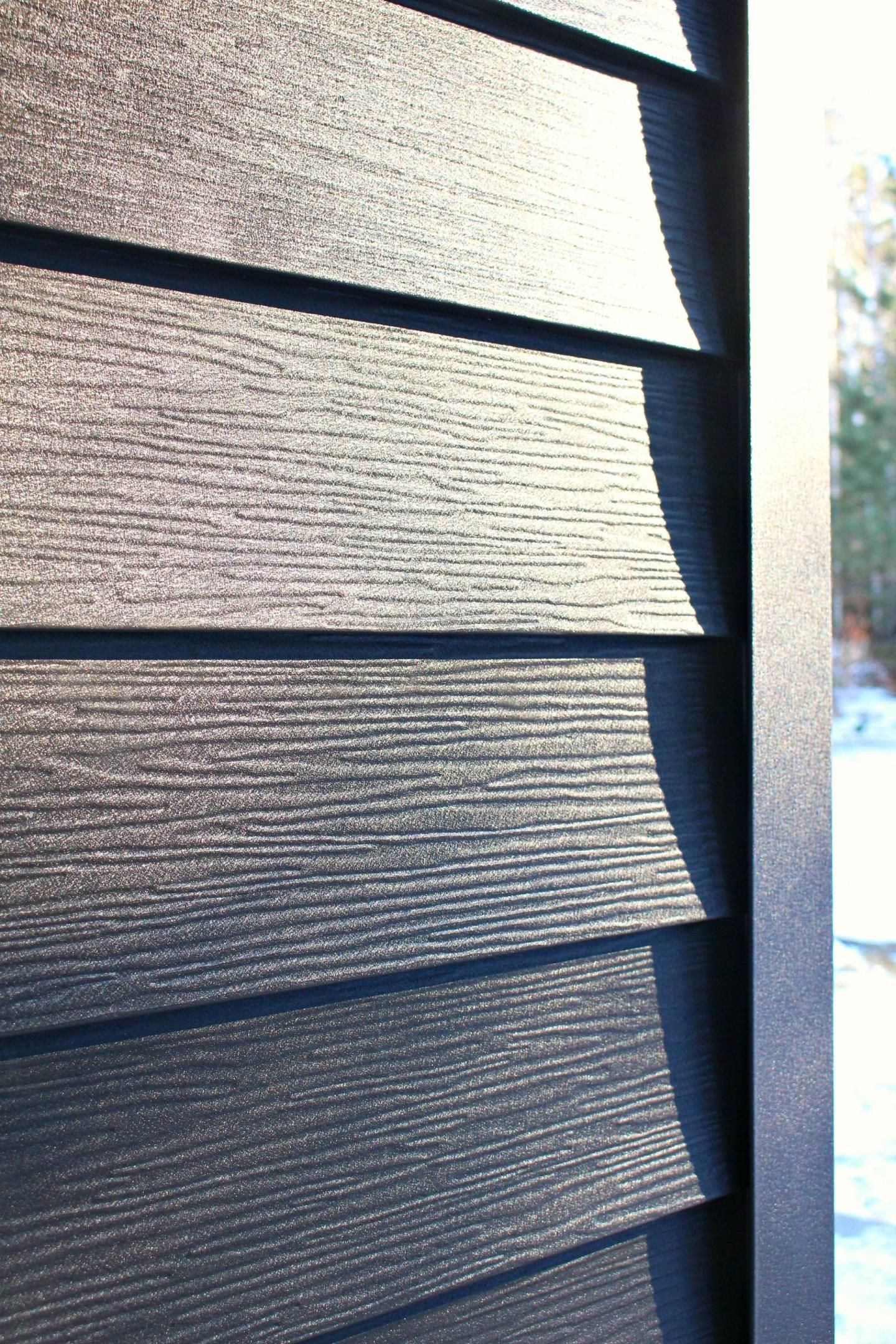 Dark Grey Metal Siding Siding That Sparkles Dans Le Lakehouse Metal Siding Steel Siding Metal Siding Colors