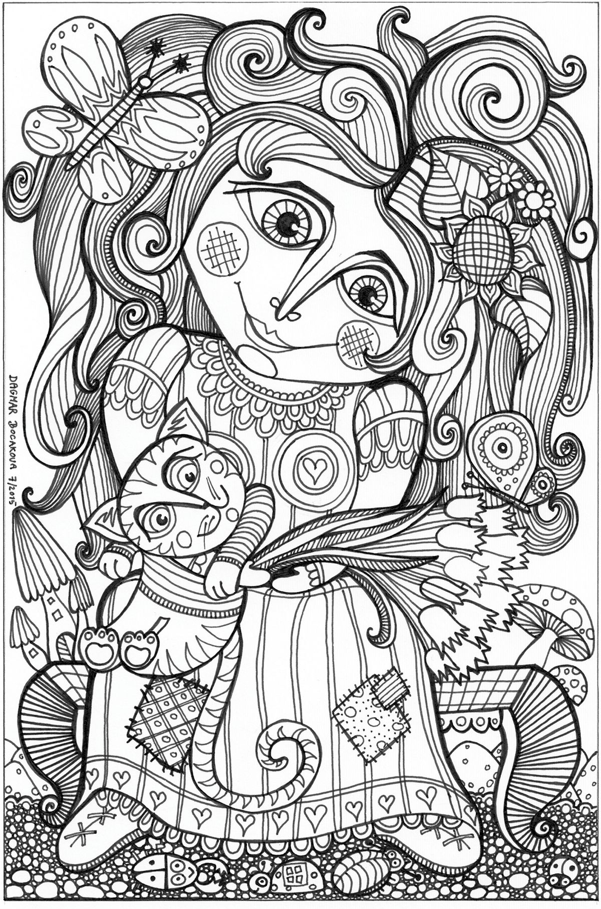 The Nature of Colors coloring book for adults | Mandalas | Pinterest ...