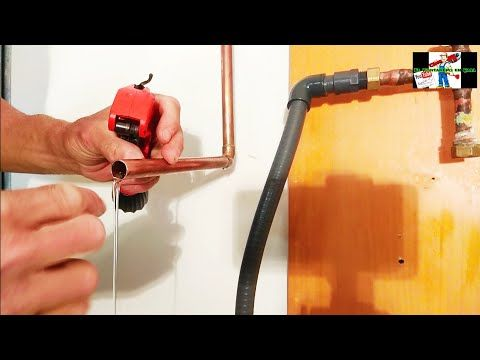 Como Soldar Cobre Con Agua Truco Ingenioso Y Sencillo Otras Soluciones Youtube Soldar Cobre Como Soldar Tubo De Cobre