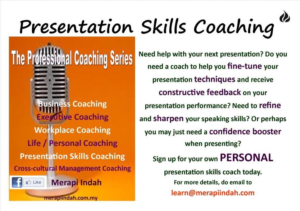 Presentation Skills Coaching Presentation Skills Coaching Skills Presentation Techniques