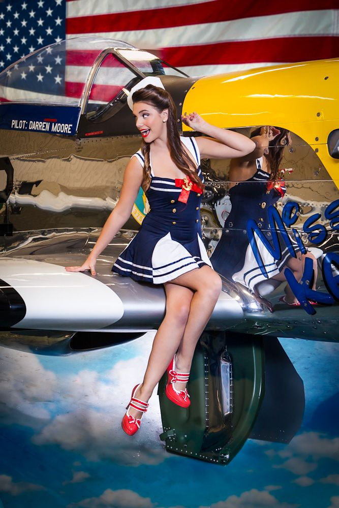 1940 39 s pin up girl shot against miss kandy a p 51 mustang fighter pin up pinterest. Black Bedroom Furniture Sets. Home Design Ideas
