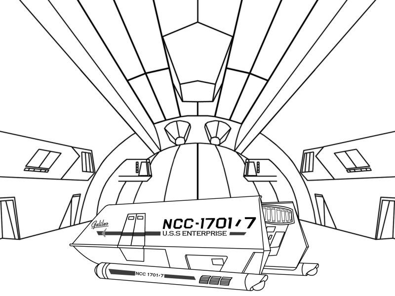 Star Trek Coloring Pages This Page Was Created By Kail Tescar