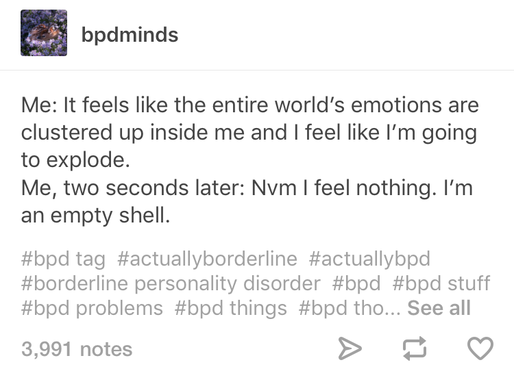 29 Tumblr Posts That Will Make Anyone With BPD Feel Less