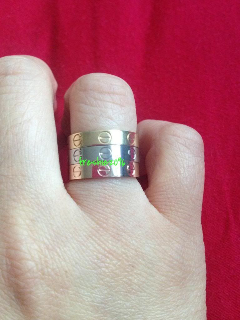 7d7261ba4ef2 Reveal  My Cartier Love Ring Stack - PurseForum