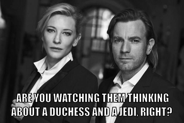 Yes, Duchess Satine and Obi-Wan! #Obitine