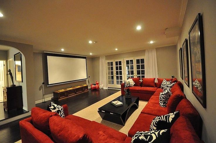 Mesmerizing Home Theater In Basement Along With Houzz Home Theater