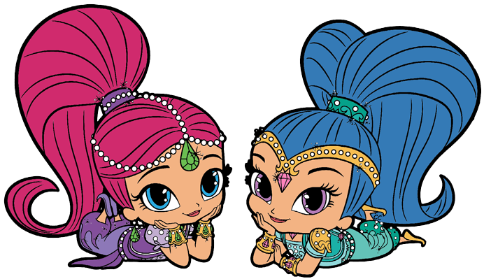 Shimmer And Shine Clipart Images Shimmer And Shine Characters Shimmer N Shine Cute Cartoon Pictures