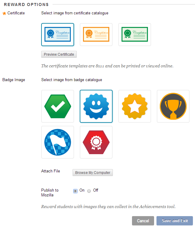 Certificate Badge Or Both Digital Badges And Achievements For