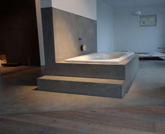 betonoptik badewanne bad pinterest betonoptik badewannen und m bel. Black Bedroom Furniture Sets. Home Design Ideas