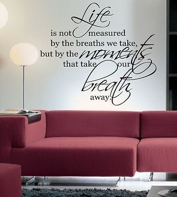 sayings for your living room wall - Google Search | Wall Sayings ...