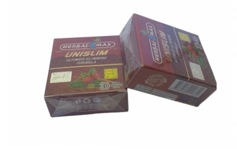 حبوب يوني سليم للتخسيس والتخلص من الدهون للابد Unislim Book Cover Decorative Boxes Cover