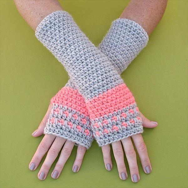 Free Crochet Arm Warmers | Häkeln
