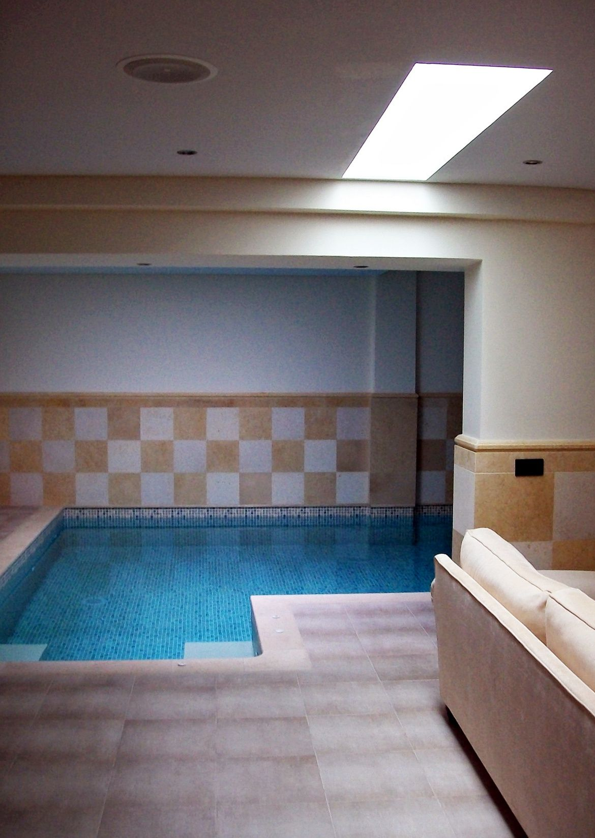 My Interiors ~ Indoor Swimming Pool With A Touch Of