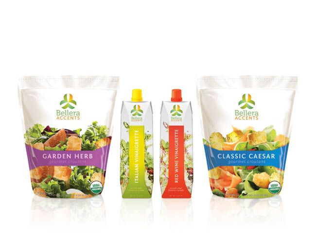 Bellera Accents Student Work Food Packaging Design Food Packaging Salad Packaging