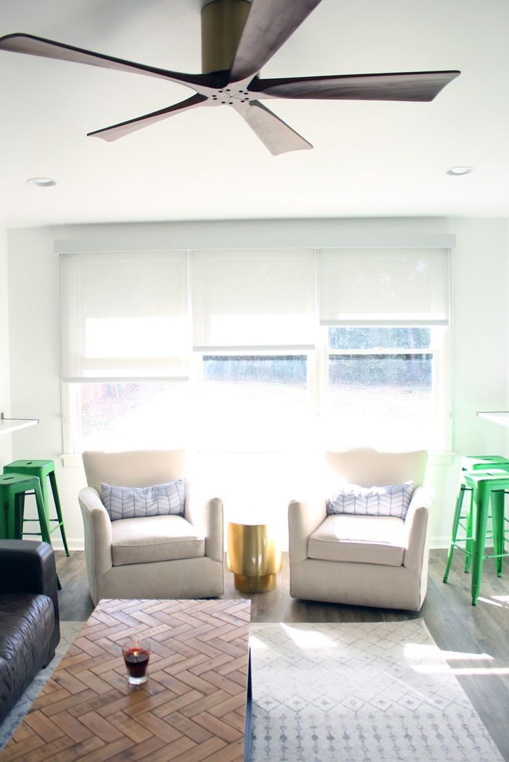 A Modern + Masculine Teen Rec Room Reveal - kelly green - leather ...