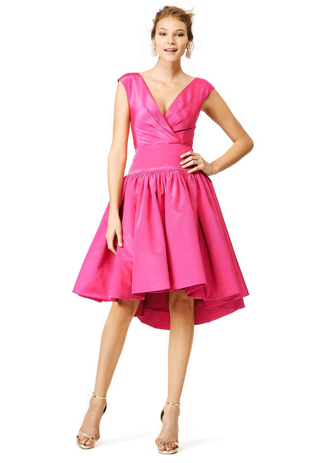 Pink party dress | Stuff to Buy | Pinterest | Cristiano, Pasarela y Rosa