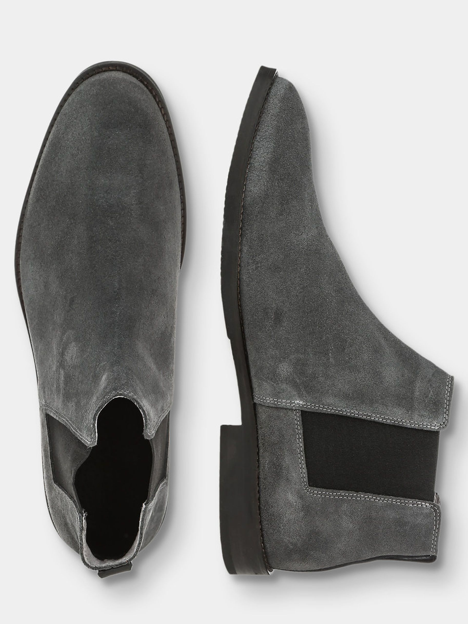 CHELSEA BOOTS BIANCO | Dress shoes, Mens suede boots, Mens