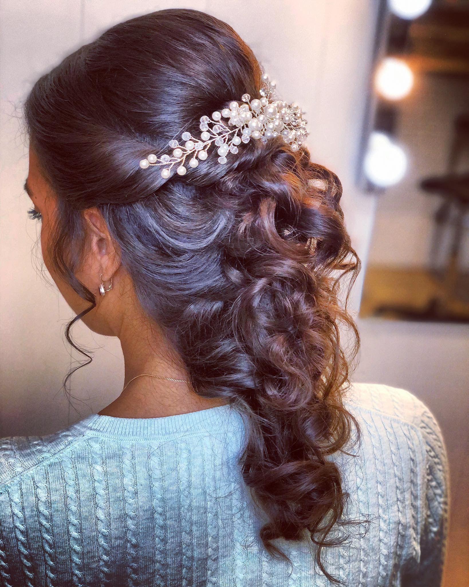 Mermaid Bruidskapsel Bruidskapsel Bruid Haar