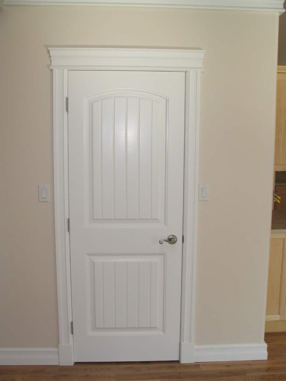 Door casing and window trim installation by deacon home enhancement - Casing Door Amp Fastening Door Casing With Finishing Nails
