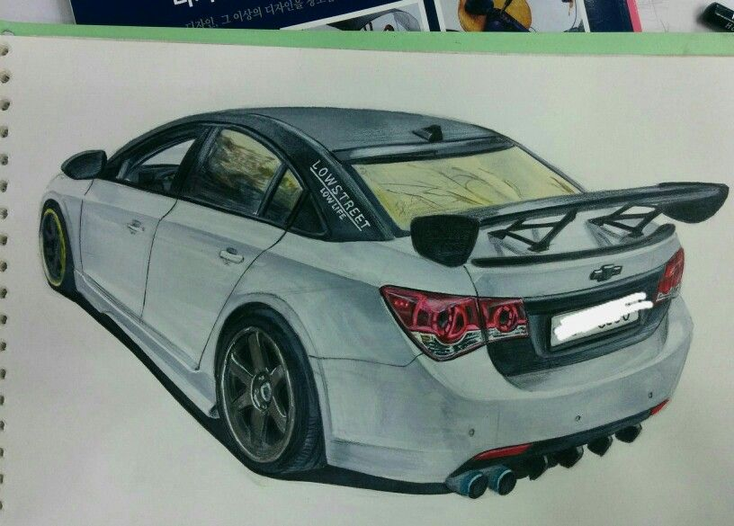 #cruze #te37 #car #chevy #chevrolet #draw #gtwing #gm #tuning #자동차 #크루즈 #쉐보레